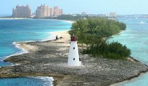 Lighthouse Bahamas Nassau Island Atlantis Hotel