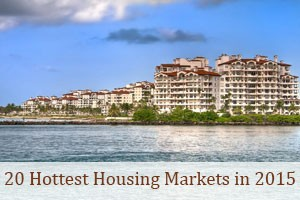 20 Hottest Housing Markets in 2015