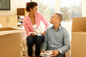 Mortgage Broker | Couple in New Home